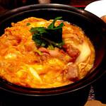 52406191 - 比内地鶏親子丼御膳(1,580円)の親子丼。