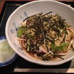52407082 - 冷したぬき蕎麦(大盛)