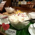 PREMIER VILLA - デザートバーから 、写真中央… ハワイアン杏仁豆腐♪