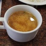 キッチンカルネ - 味噌汁