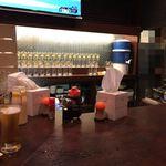 生ビールとたこ焼きのお店 佐藤 - カウンター