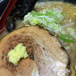 サッポロラーメン エゾ麺ロック - みそラーメン800円税込のチャーシュー