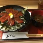 魚重 - 鉄火丼並780円