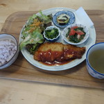 コトヤ カフェ - 料理写真:ごはんプレート830円(税込)