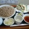 十割手打そば処 福田 - 料理写真:天ざる