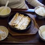52420140 - 棒餃子の定食