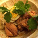 多慶家 - 鶏と玉子の旨煮