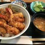 天ぷら丸中 - 天丼定食