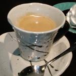 四万温泉 柏屋カフェ - [ドリンク] Hot珈琲 (単品価格¥500+税) アップ♪w