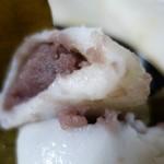 和菓子 浅田家 - (2016/4月)柏餅の断面