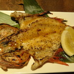 京町個室居酒屋 魚御殿 - 豪華まるごと鮮魚の雲丹焼き(雲丹しゃぶ料理コースの4000円コース)