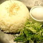 京町個室居酒屋 魚御殿 - 〆の海鮮出汁雑炊(雲丹しゃぶ料理コースの4000円コース)
