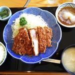 とんとん農場レストラン - とろかつ定食¥2180