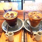 バーミリオン espresso bar & info. - 2016.6 アイスアメリカーノとアイスラテ