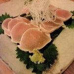 串焼き処蔵人 - 料理写真:鶏肉の昆布〆