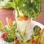 5243725 - バーニャカウダの野菜