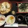 松月庵 - 料理写真:かつ丼とそばセット