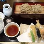 梅好 - 車海老天蕎麦