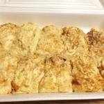 辻野鶏卵 - 料理写真:冷めても美味しい! たこ焼き400円