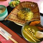 中国飯店 - 2016 グリーンカレーつけ麺と半ライス