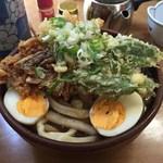 峠のうどん屋 藤屋 - 「野菜天ぷら手打うどん」600円