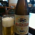 天松 日本橋店 - 一番搾り(594円)