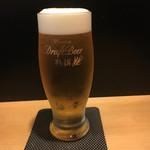 貴与次郎 - ビールはとても美味しかった