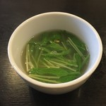 52437473 - 汁錦焼飯に付いて来たスープ