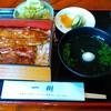 うなぎ一樹 - 料理写真:[料理] うな重 (鰻1匹利用)¥2,480 セット全景♪w