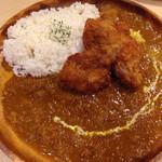 ブルックスカレー食堂 - どろぶたの熟成一口カツカレー 980円