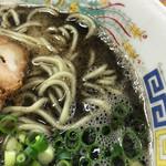 熊本らーめん 育元 - 麺、マー油