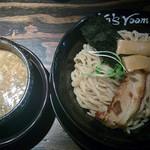 52443671 - つけ麺(大盛り)830円+味玉100円