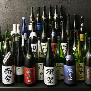 【47都道府県の日本酒をオーナーが厳選!340円~飲み比べ】