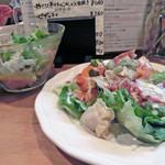 セレナ食堂 - シーフードカルパッチョ(680円)