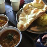 インドカレーSOL - 野菜単品、チキン単品、ナンとライス