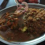 インドカレーSOL - チキンとキーマ