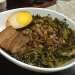 縁 - 豚角煮丼アップ