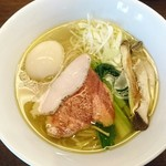 麺屋龍壽 - 味玉芳醇中華そば(塩) 850円
