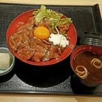52447372 - ローストビーフ丼