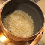 和ごころ 泉 - 新生姜の炊込みご飯