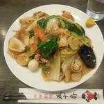 中華料理五十番 - 五目あんかけ焼きそば ¥880-