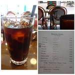 オー バカナル - ◆ドリンクは選べますので「アイスコーヒー」を。