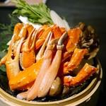 52449848 - 名物:豪華3種の蟹天国鍋~タラバ蟹、ズワイ蟹、渡り蟹~