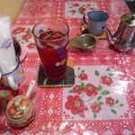 ホアマイ - ハス茶 H、ベトナム酎ハイ ラズベリー酢