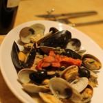 52450406 - 真鯛と季節の貝のアクアパッツァ仕立て