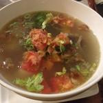 カフェ ビンタン - 牛テールスープ