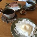 珈琲豆屋 - ケーキセット