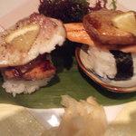 活魚水産 - フォアグラ握り880円