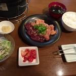 焼肉 舞牛 - ホルモン定食