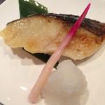 寿司源 藤沢大庭店 - 銀だら西京焼き ふわトロで美味しかった〜(n´v`n)✨